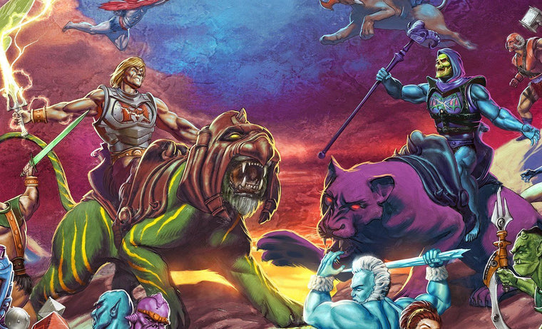 The Battle for Grayskull - Variant - Mad Duck Posters