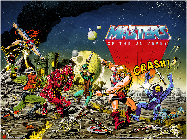 The Masters Of The Universe - Variant Colorway - Text Version
