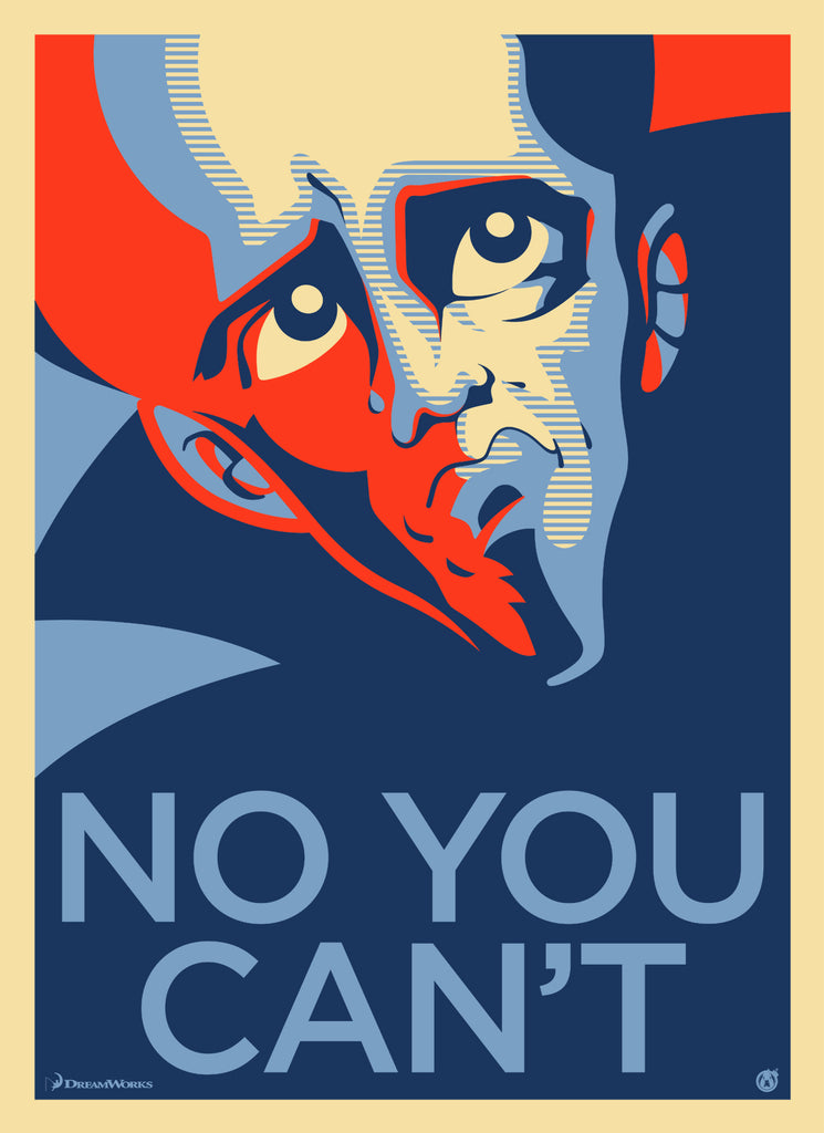 Megamind - No You Can't - Mad Duck Posters