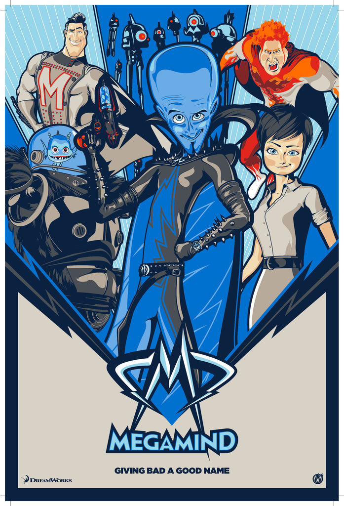 Megamind - Regular - Mad Duck Posters
