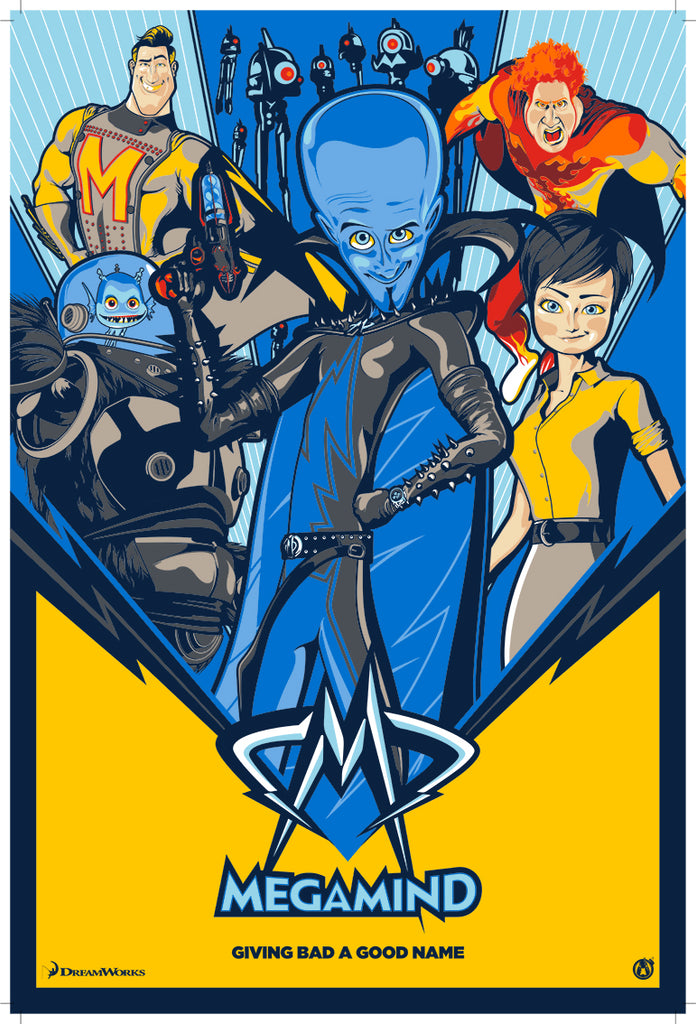 Megamind - Variant - Mad Duck Posters