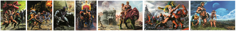 SiMo Sol Matching Number MOTU Poster Set Of 7 or 8! - FINANCE Option A