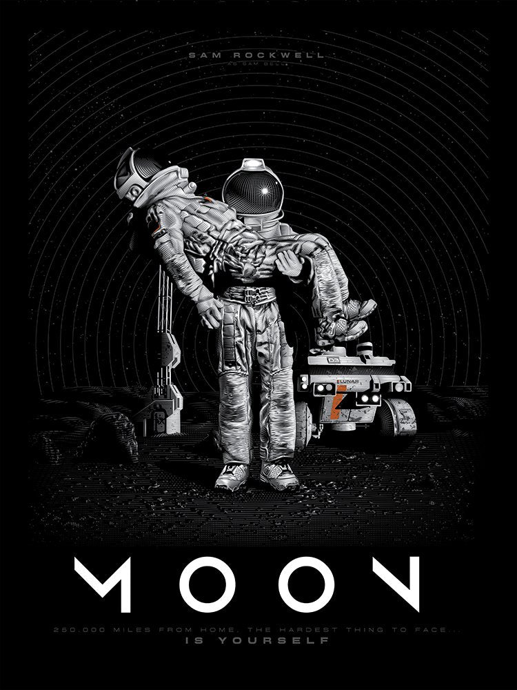Moon - Regular - Mad Duck Posters