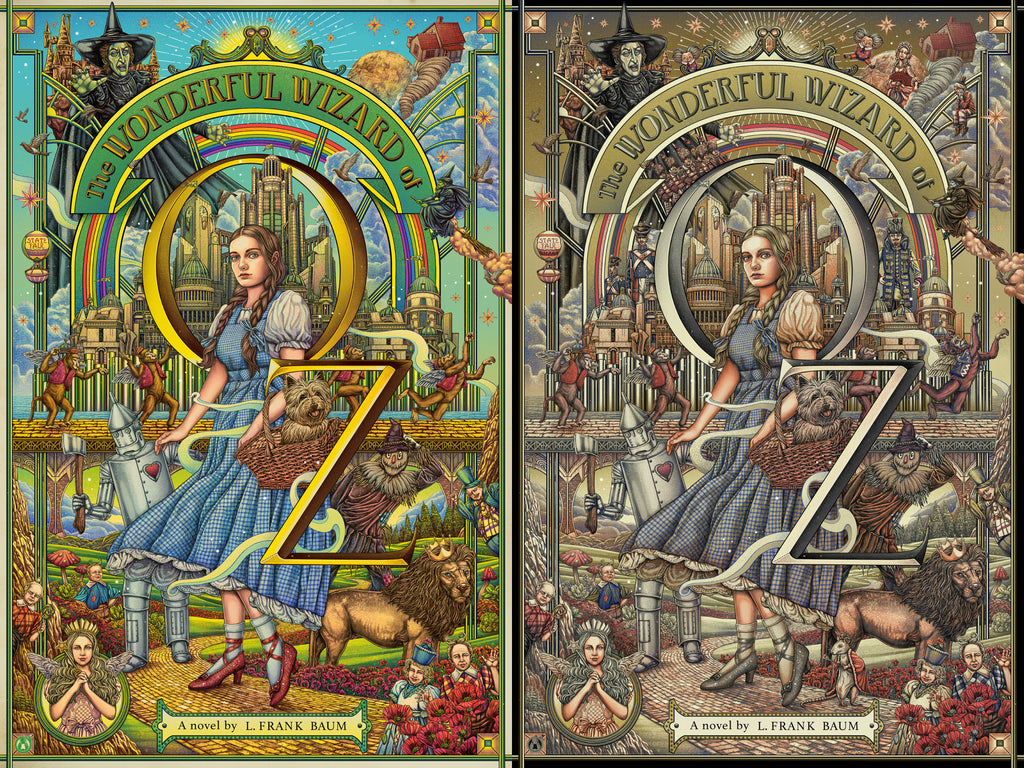 The Wonderful Wizard Of Oz - Regular & Platinum Variant Matching Number Set