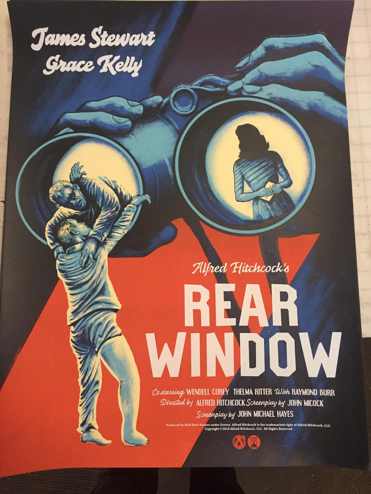 Rear Window - Dusk Variant - POV - Mad Duck Posters
