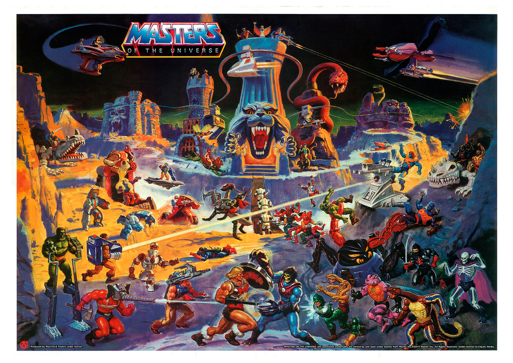Eternia - Mad Duck Posters