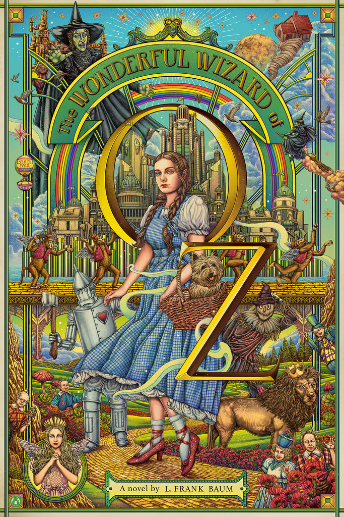 The Wonderful Wizard Of Oz - Foil - Regular Colorway - Mad Duck Posters