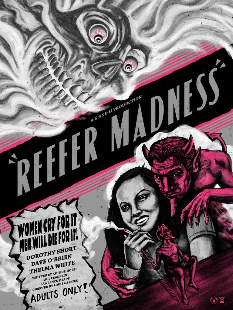 Reefer Madness - Kind Variant - Mad Duck Posters