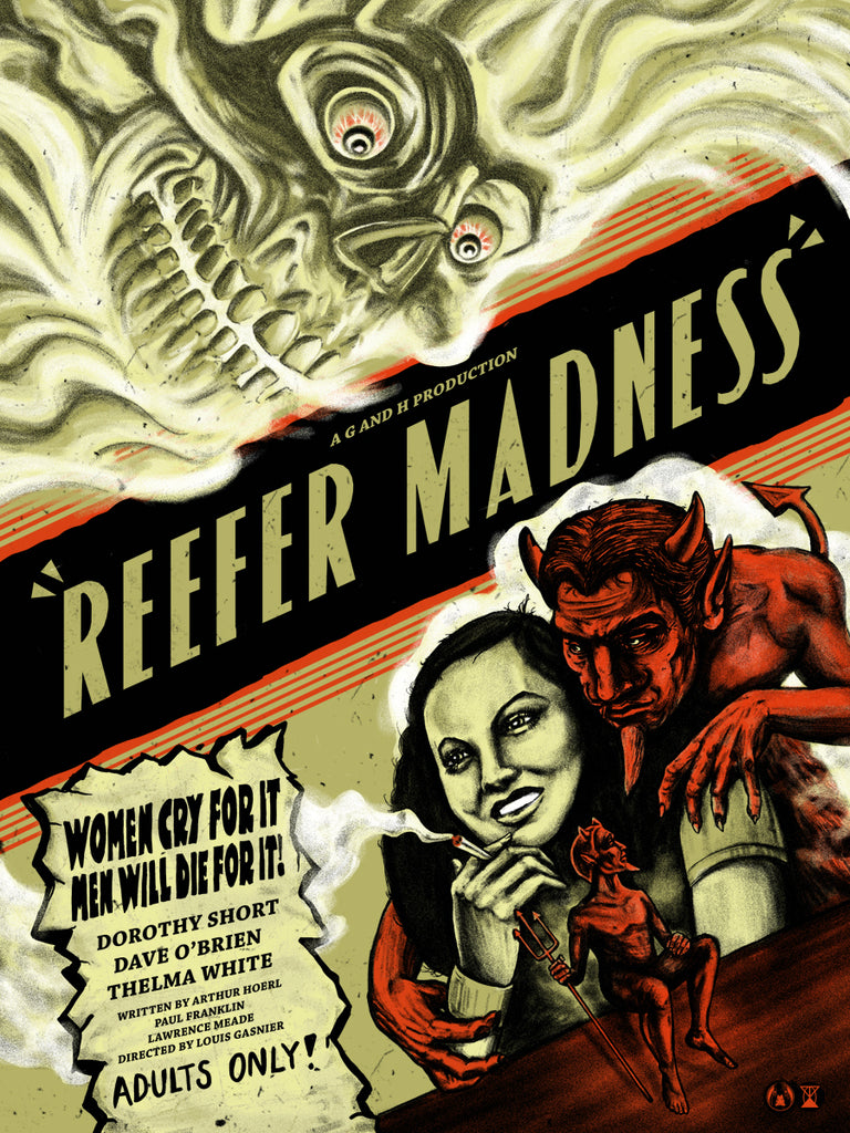 Reefer Madness - Regular - Mad Duck Posters