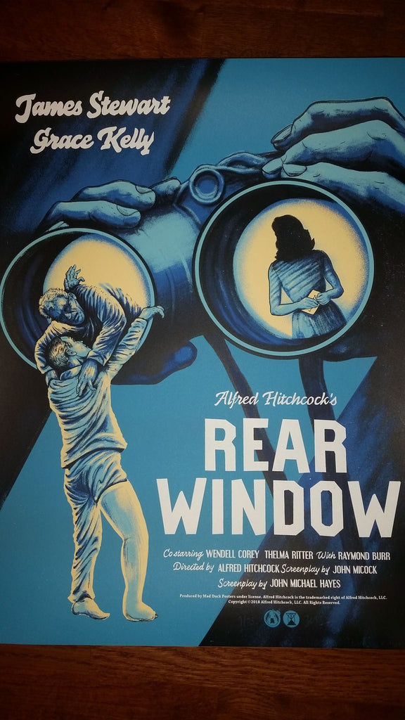 Rear Window - Variant - POV - Mad Duck Posters
