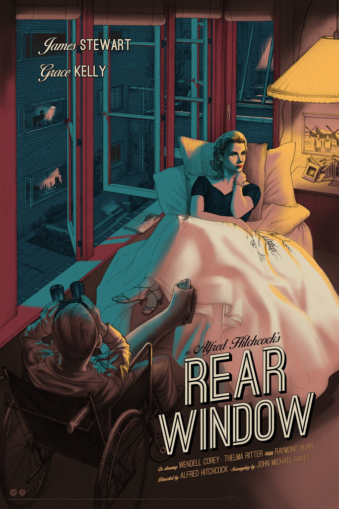 Rear Window - Mad Duck Posters
