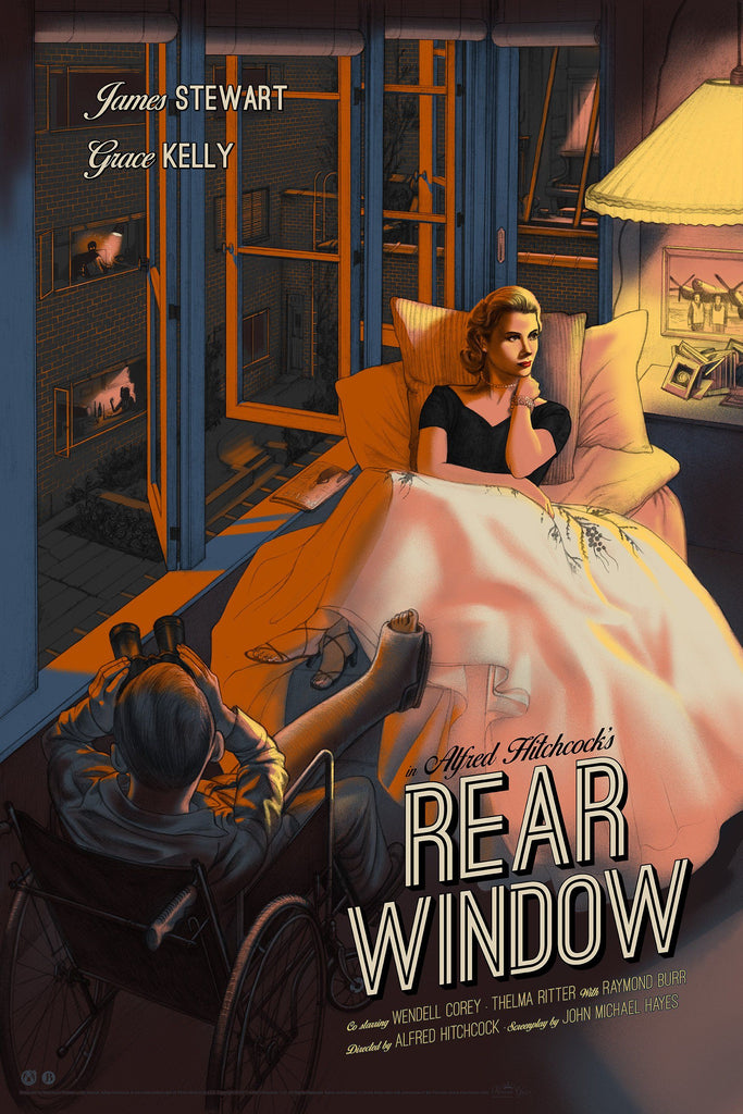 Rear Window - Variant - Mad Duck Posters