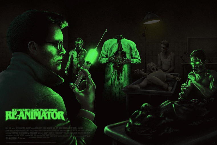 H.P. Lovecraft's Re-Animator - Mad Duck Posters - 2
