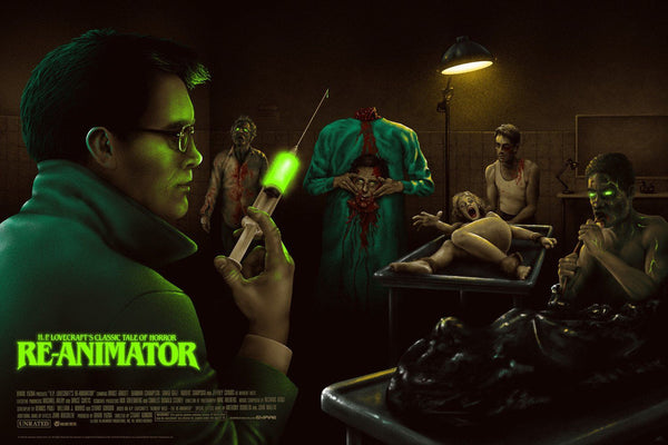 H.P. Lovecraft's Re-Animator - Mad Duck Posters - 1