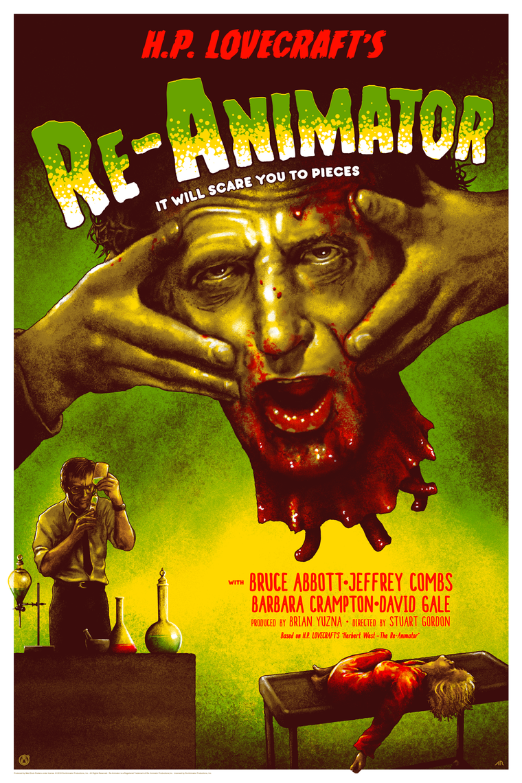 Re-Animator - Frankenstein Homage