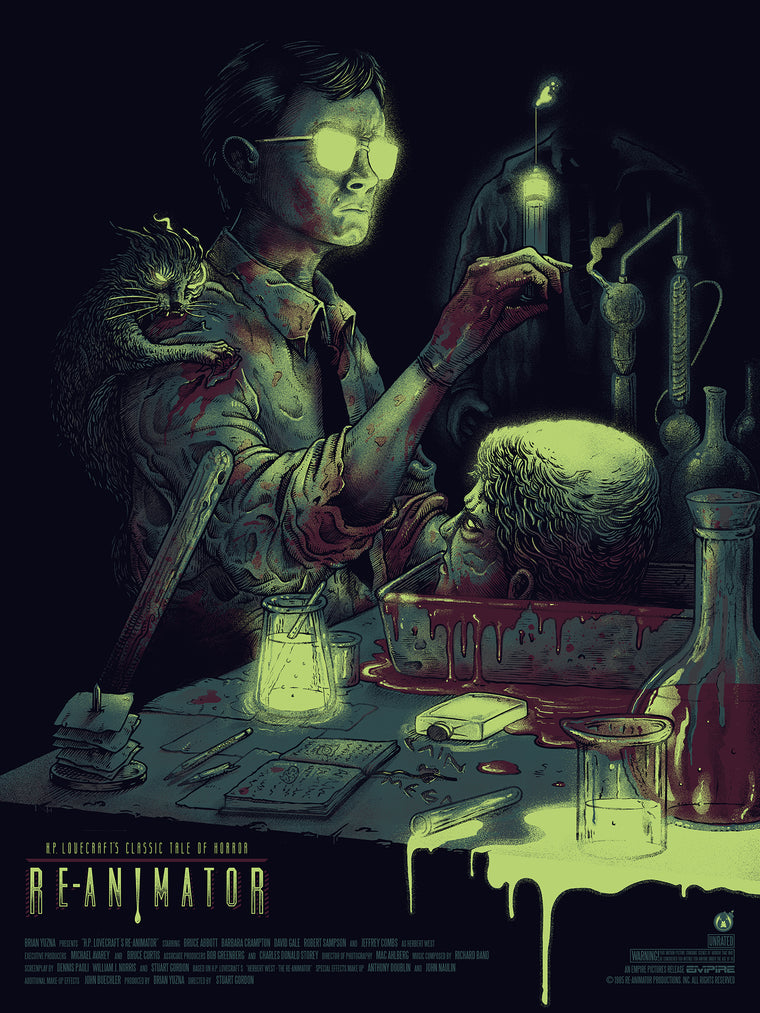 Re-Animator - Regular - 18x24