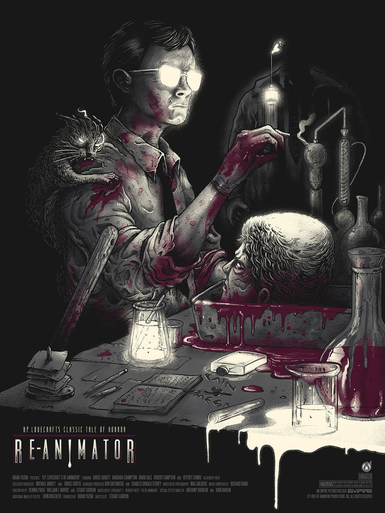 Re-Animator - Variant - 18x24