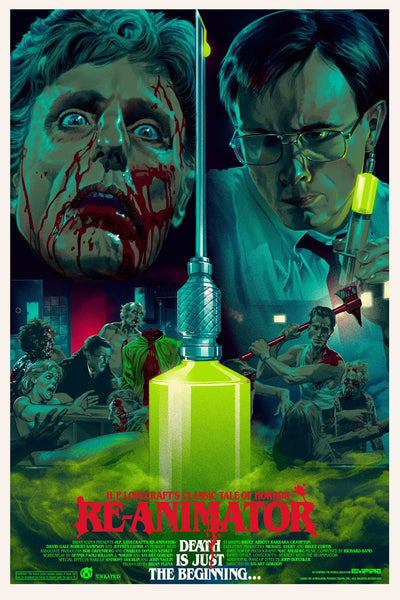 Re-Animator - Variant - Foil - Mad Duck Posters