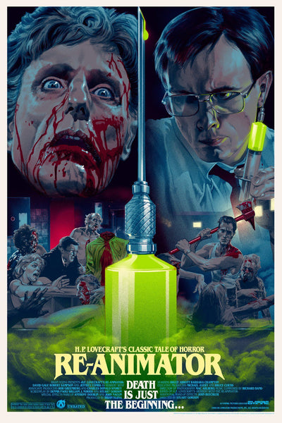 Re-Animator - Foil - Mad Duck Posters