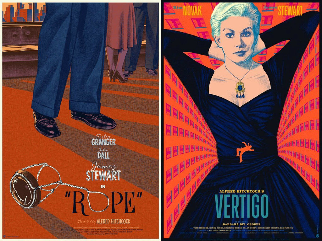 Vertigo and Rope Matching Numbered Set - Mad Duck Posters