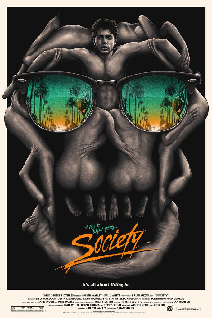 Society - Beach Edition (Regular) - Mad Duck Posters