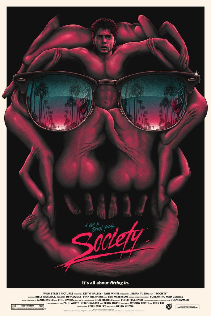 Society - Party Edition (Variant) - Mad Duck Posters