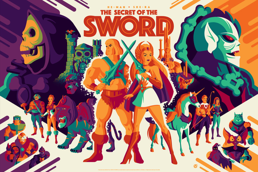 The Secret Of The Sword - Regular - Mad Duck Posters
