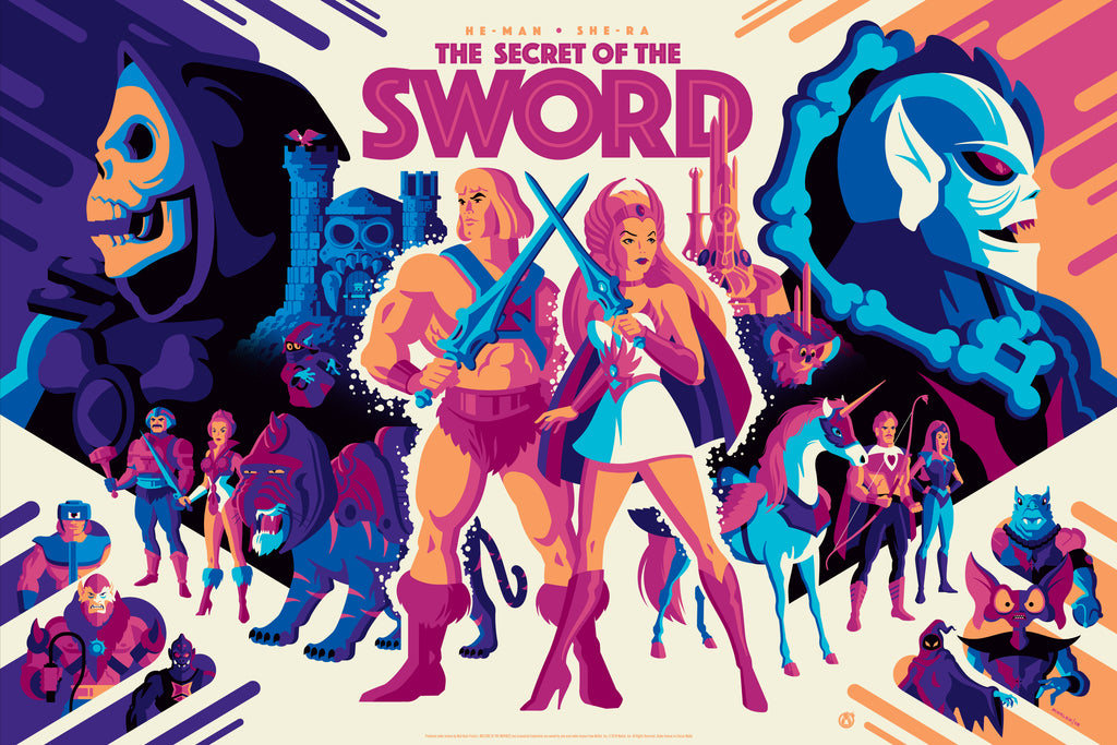 The Secret Of The Sword - Honor Variant - Mad Duck Posters
