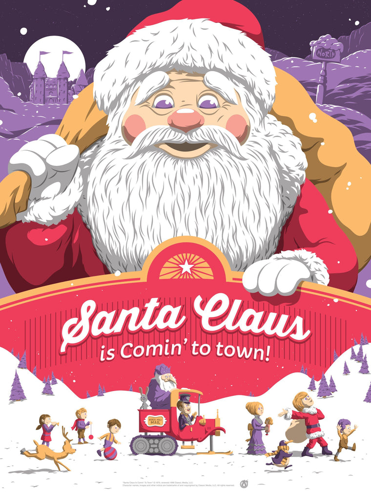 Santa Claus Is Coming To Town - Purple Variant