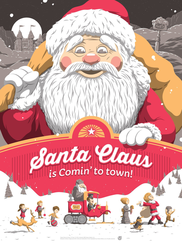 Santa Claus Is Coming To Town - Variant