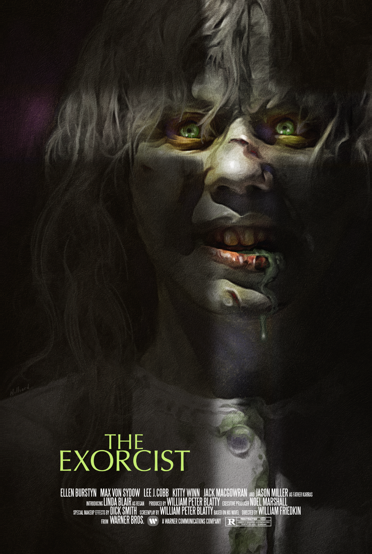 The Exorcist - GID Variant - Mad Duck Posters