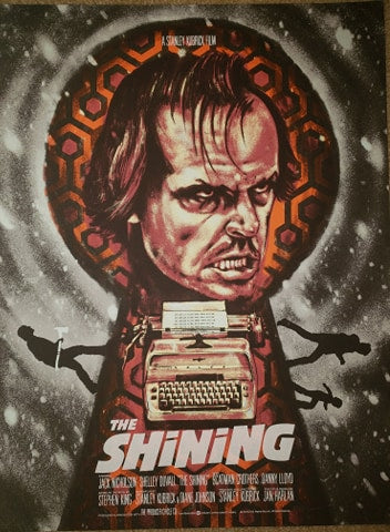 The Shining - Blue Winter Variant - Mad Duck Posters