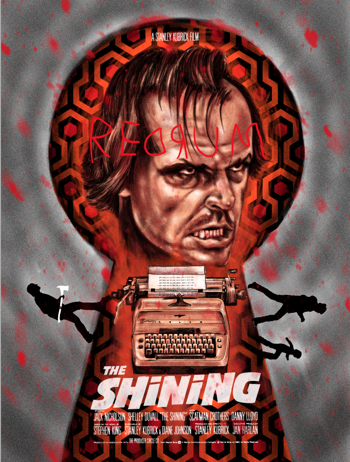 The Shining - Redrum Variant