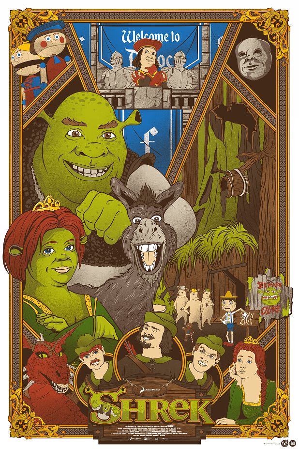 Shrek - Mad Duck Posters