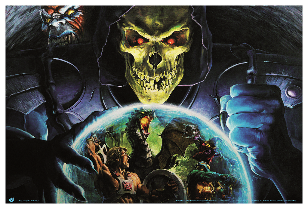 Skeletor - The Eye Of Evil! - Mad Duck Posters