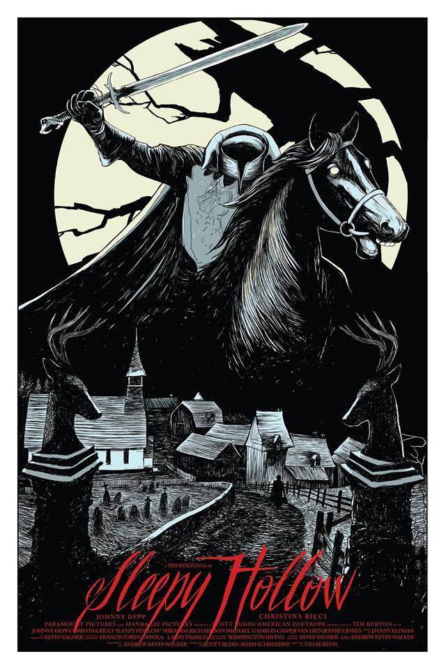 Sleepy Hollow - Mad Duck Posters