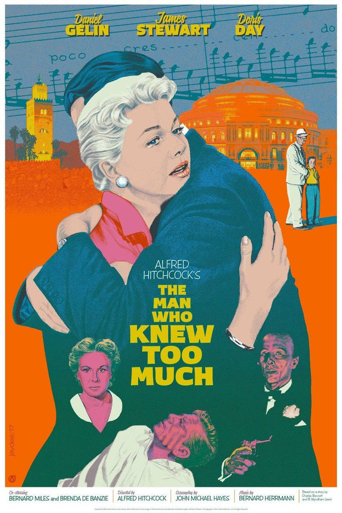 The Man Who Knew Too Much - Mad Duck Posters