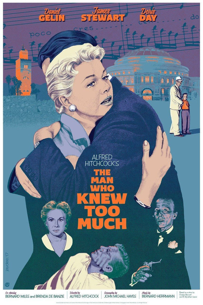 The Man Who Knew Too Much - Variant - Mad Duck Posters