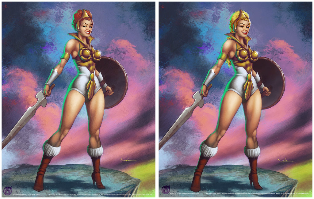 Teela - Matching Numbered Set (Regular & Variant)