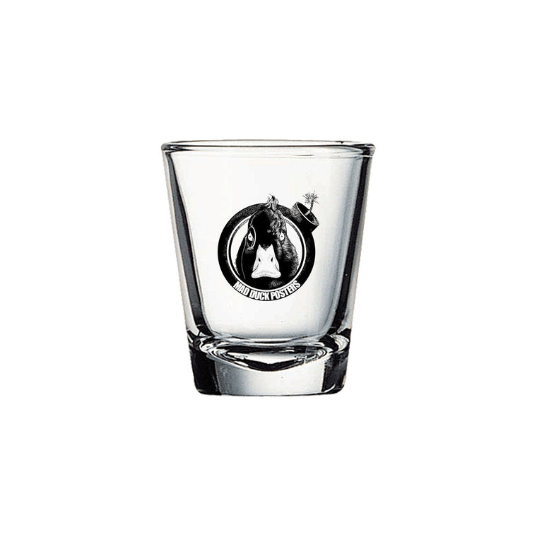 Mad Duck Logo Shot Glass