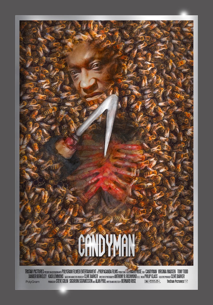 Candyman - Mirror Foil Variant - Mad Duck Posters