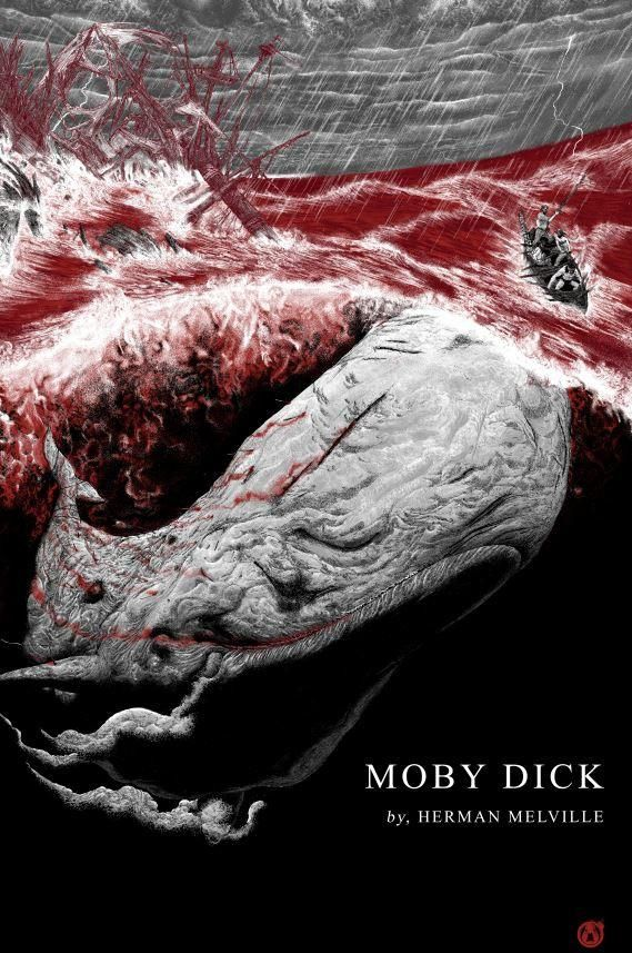 Moby Dick - Doom Variant - Mad Duck Posters