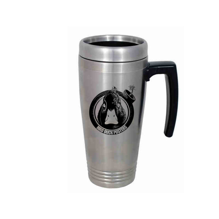 Mad Duck Logo Travel Thermos