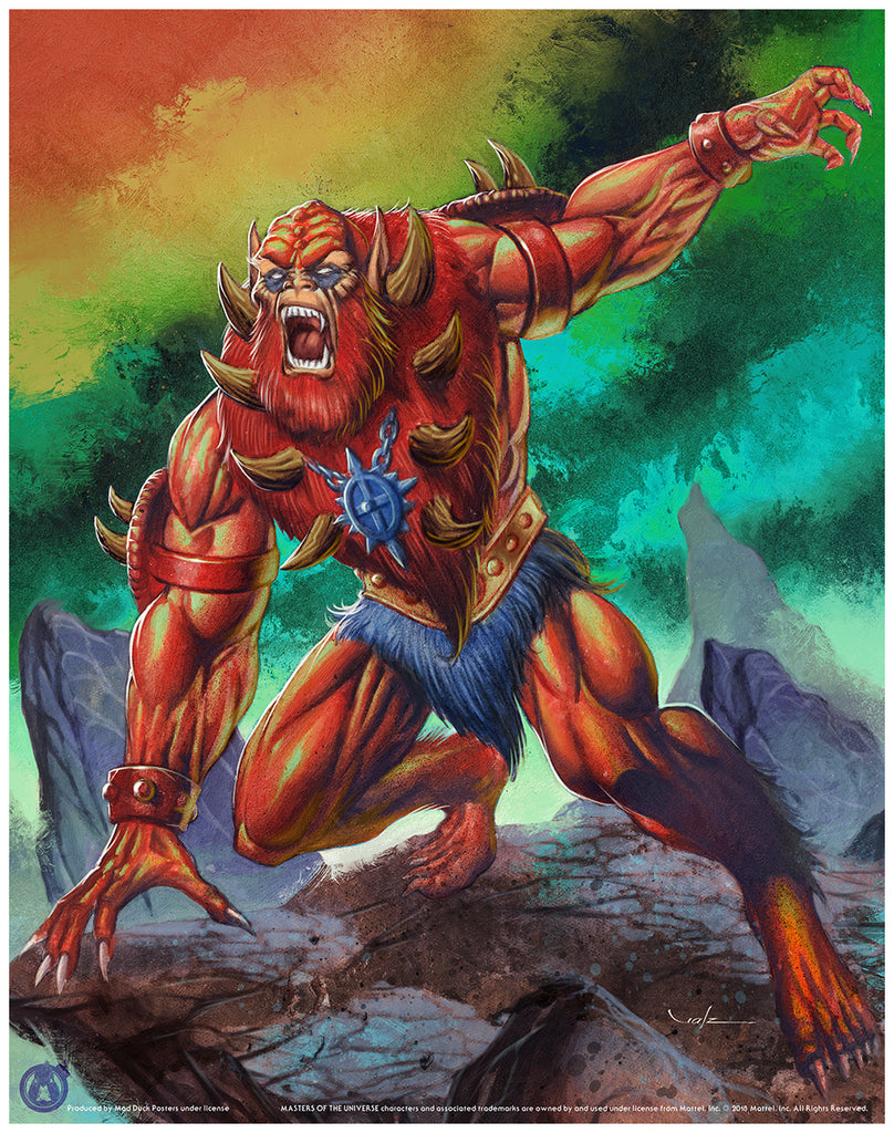 Beast Man - Regular - Mad Duck Posters