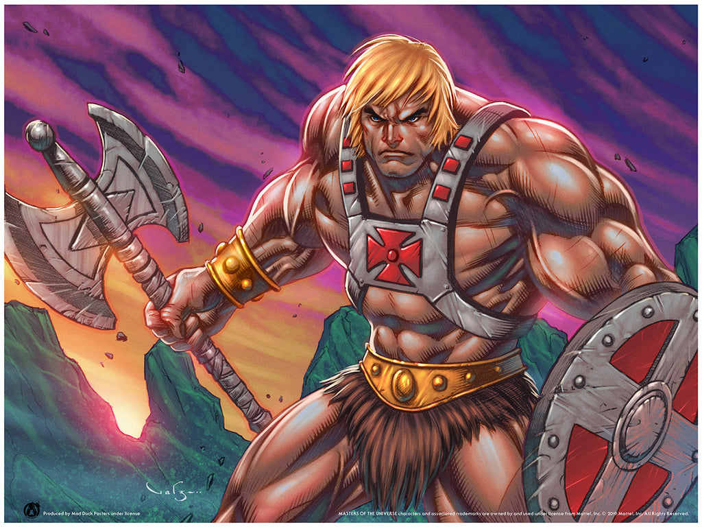 He-Man - Warrior - Mad Duck Posters