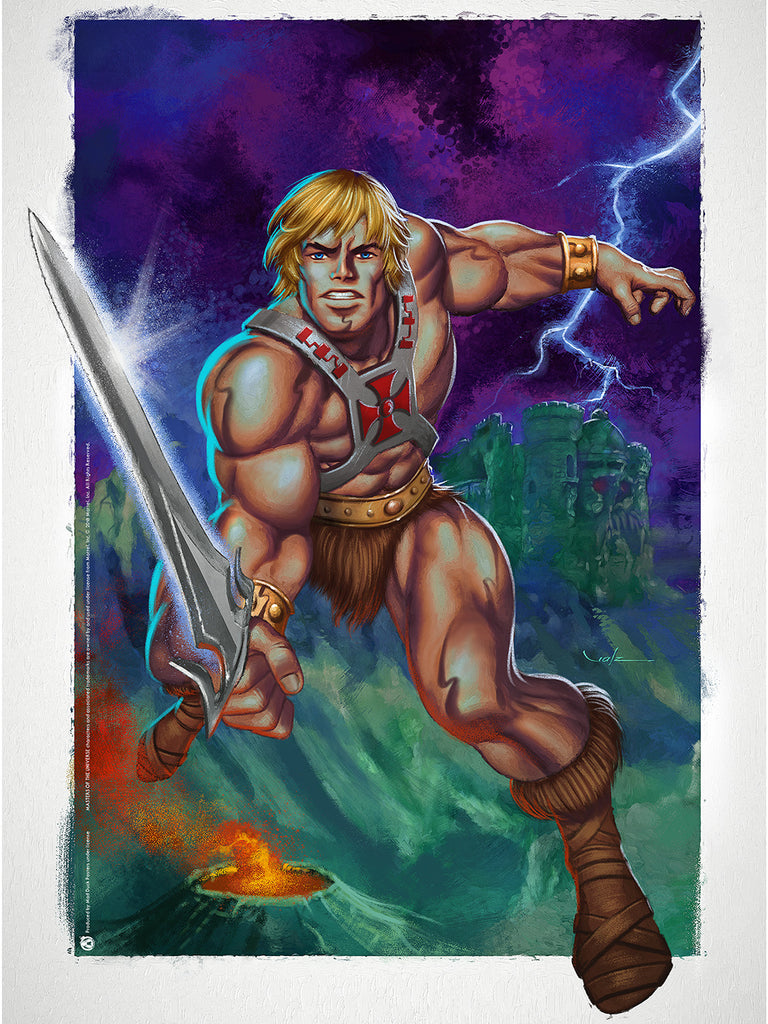 He-Man - Protector - Mad Duck Posters
