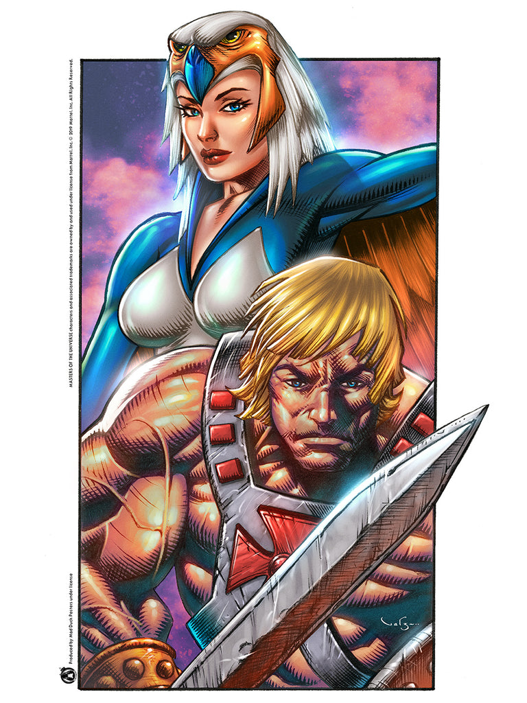 He-Man And The Sorceress - Mad Duck Posters