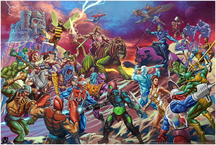 The Battle for Grayskull