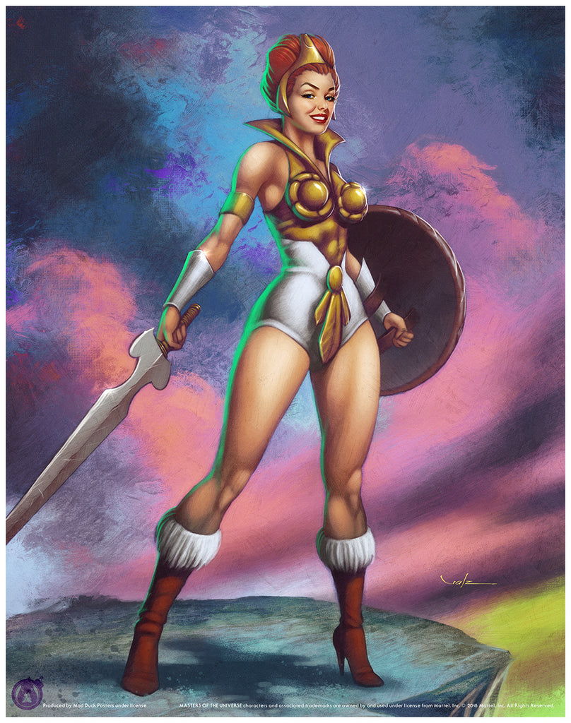 Teela - Matching Numbered Set (Regular & Variant) - Mad Duck Posters