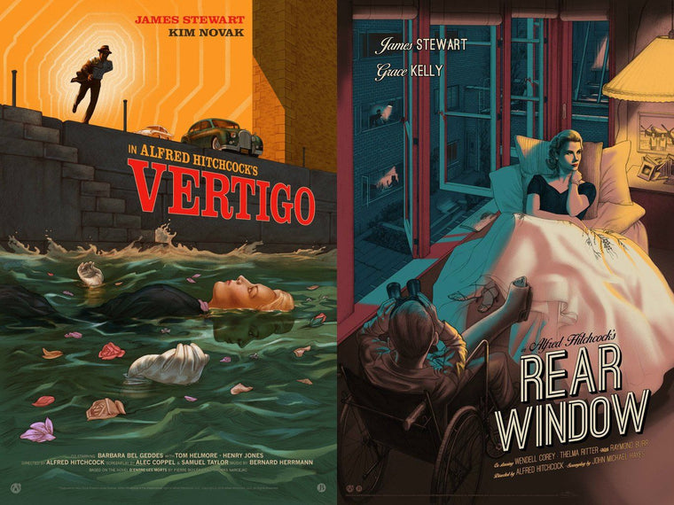 Vertigo & Rear Window - Matching Numbered Set